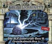 H. P. Lovecraft: Gruselkabinett-Box 5, CD