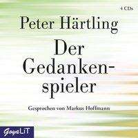 Peter Härtling: Der Gedankenspieler, 4 CDs