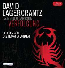 David Lagercrantz: Verfolgung, 2 MP3-CDs