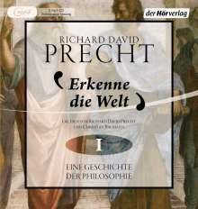Richard David Precht: Erkenne die Welt, 2 MP3-CDs