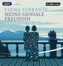 Elena Ferrante: Meine geniale Freundin, 2 MP3-CDs
