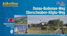 Bikeline Donau-Bodensee-Weg / Oberschwaben-Allgäu-Weg, Buch