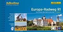 Bikeline Europa-Radweg R1, Buch