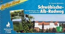 Bikeline Radtourenbuch Schwäbische-Alb-Radweg, Buch