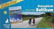 Bikeline Ostseeküste, Baltikum, Buch