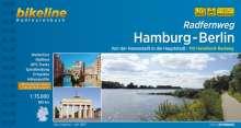 Bikeline Radfernweg Hamburg - Berlin, Buch