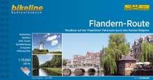 Bikeline Radatlas Flandern-Route, Buch