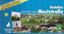 Bikeline Radatlas Moststraße 1 : 75 000, Buch