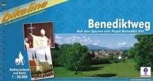 Bikeline Radtourenbuch Benediktweg, Buch