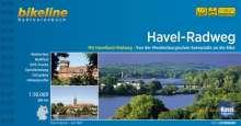 Bikeline Havel-Radweg, Buch