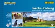 bikeline Radtourenbuch Jakobs-Radweg 1 : 75 000, Buch