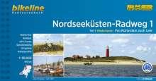 Bikeline Radtourenbuch Nordseeküsten-Radweg 01: Rotterdam - Leer, Buch