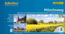 Bikeline Radtourenbuch Mönchsweg, Buch