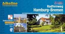 Bikeline Radtourenbuch Radfernweg Hamburg-Bremen, Buch