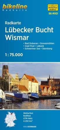 Radkarte Lübecker Bucht Wismar (RK-MV01), Diverse