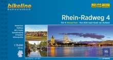 Bikeline Radtourenbuch Rhein-Radweg 04 Niederrhein, Buch