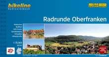 Bikeline Radtourenbuch Radrunde Oberfranken, Buch
