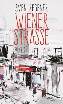 Sven Regener: Wiener Straße, Buch