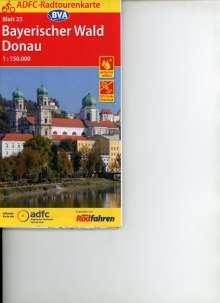 ADFC-Radtourenkarte 23 Bayerischer Wald Donau 1:150.000, Diverse