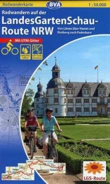 Radwandern auf der LandesGartenSchau-Route NRW 1 : 50 000, Diverse
