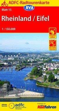 ADFC-Radtourenkarte 15 Rheinland / Eifel 1 : 150 000, Diverse