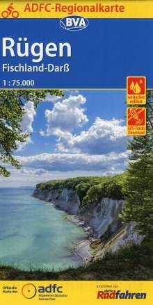 ADFC-Regionalkarte Rügen, Fischland-Darß, Diverse