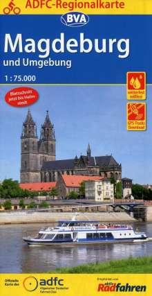 ADFC-Regionalkarte Magdeburg und Umgebung 1:75.000, Diverse