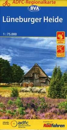 ADFC-Regionalkarte Lüneburger Heide, 1:75.000, Diverse
