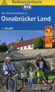 Radwanderkarte BVA Radwandern im Osnabrücker Land 1:60.000, Diverse