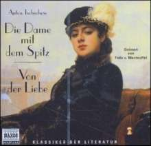 Tschechow,Anton:Die Dame mit dem Spitz, CD