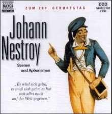 Nestroy,Johann:Szenen und Aphorismen, 2 CDs