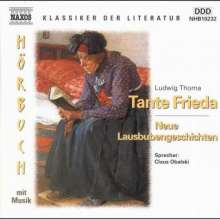 Thoma,Ludwig:Tante Frieda, CD
