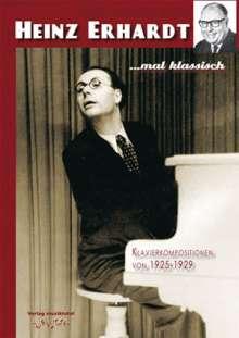 Heinz Erhardt - mal klassisch (Klavierkompositionen), Noten