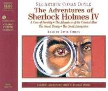 Conan Doyle,Sir Arthur:Sherlock Holmes IV (in engl.Spr.), 3 CDs