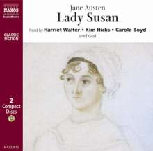 Austen,Jane:Lady Susan (in engl.Spr.), 2 CDs