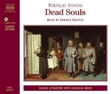 Gogol,Nikolaj von:Dead Souls (in engl.Spr.), 4 CDs