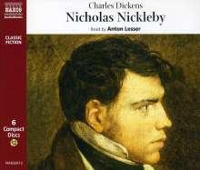 Charles Dickens: Nicholas Nickleby, 6 CDs