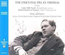 Essential Dylan Thomas, 4 CDs