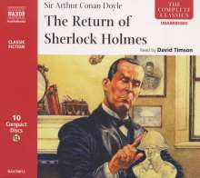 The Return of Sherlock Holmes, CD