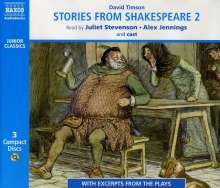Stories from Shakespeare, 3 CDs
