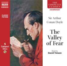 Sir Arthur Conan Doyle: Conan Doyle, Arthur:The Valley of Fear, CD