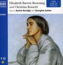 The Great Poets: Elizabeth Bar, CD