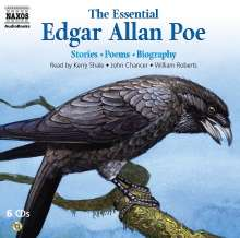The Essential Edgar Allan Poe:, 6 CDs