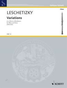 Theodor Leschetizky (1830-1915): Variations, Noten
