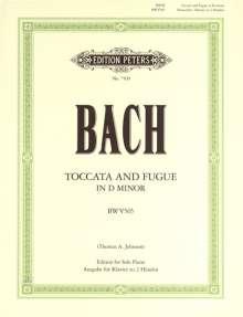 Johann Sebastian Bach (1685-1750): Toccata und Fuge d-Moll BWV 565, Noten