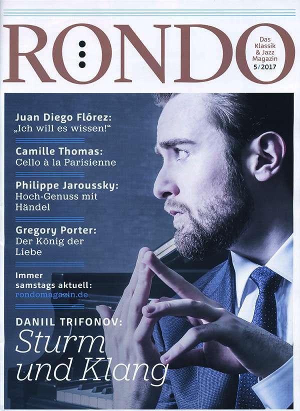 Aktuelle Ausgabe rondo die aktuelle ausgabe 5 2017 zeitschrift jpc
