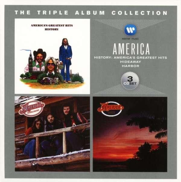 America The Triple Album Collection 3 Cds Jpc