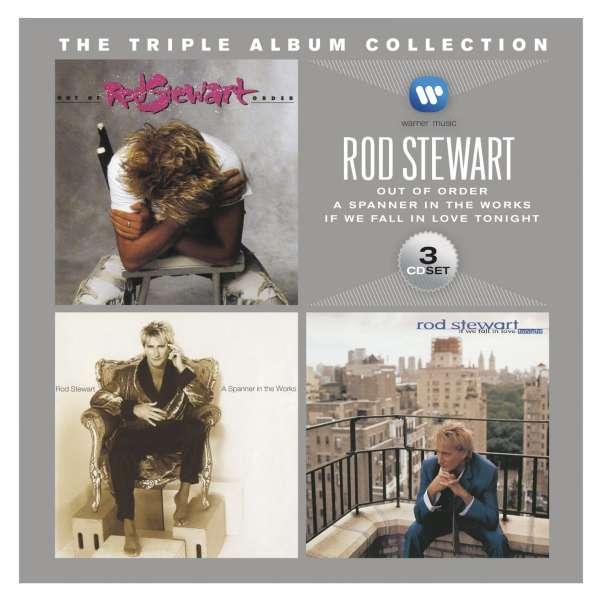 Rod Stewart The Triple Album Collection 3 Cds Jpc
