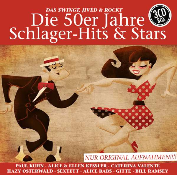 die 50er jahre schlager hits stars 3 cds jpc. Black Bedroom Furniture Sets. Home Design Ideas