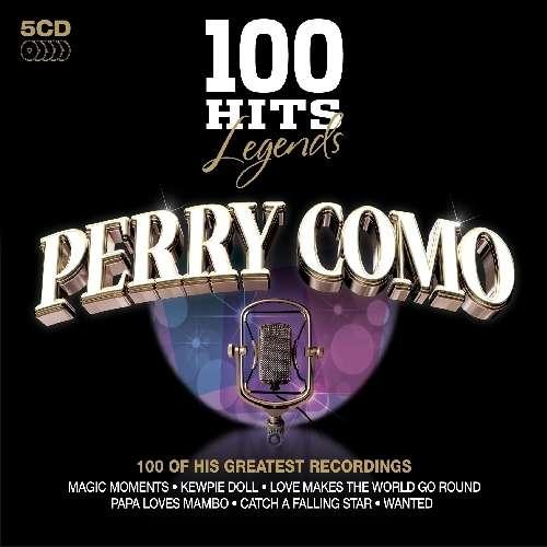 Perry Como 100 Hits Legends Perry Como 5 Cds Jpc